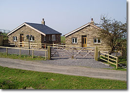 Angram Green Holiday Cottages in the Ribble Valley near Downham Lancashire, Pendle Witch Country